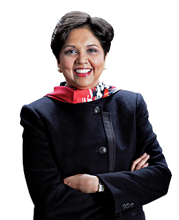 A refreshing take on leadership: Indra Nooyi, CEO of PepsiCo